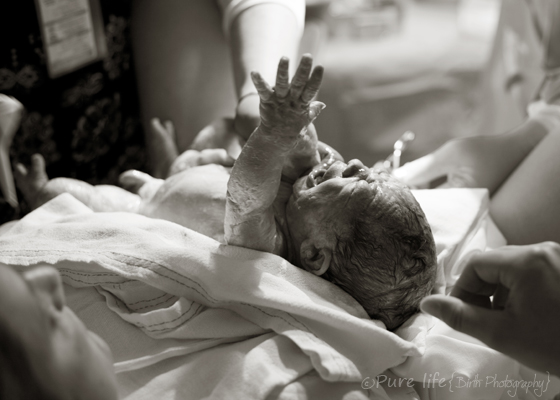 Pure Life, Birth Photograpy - 2013 International Association of Professional Birth Photographers Photo Contest